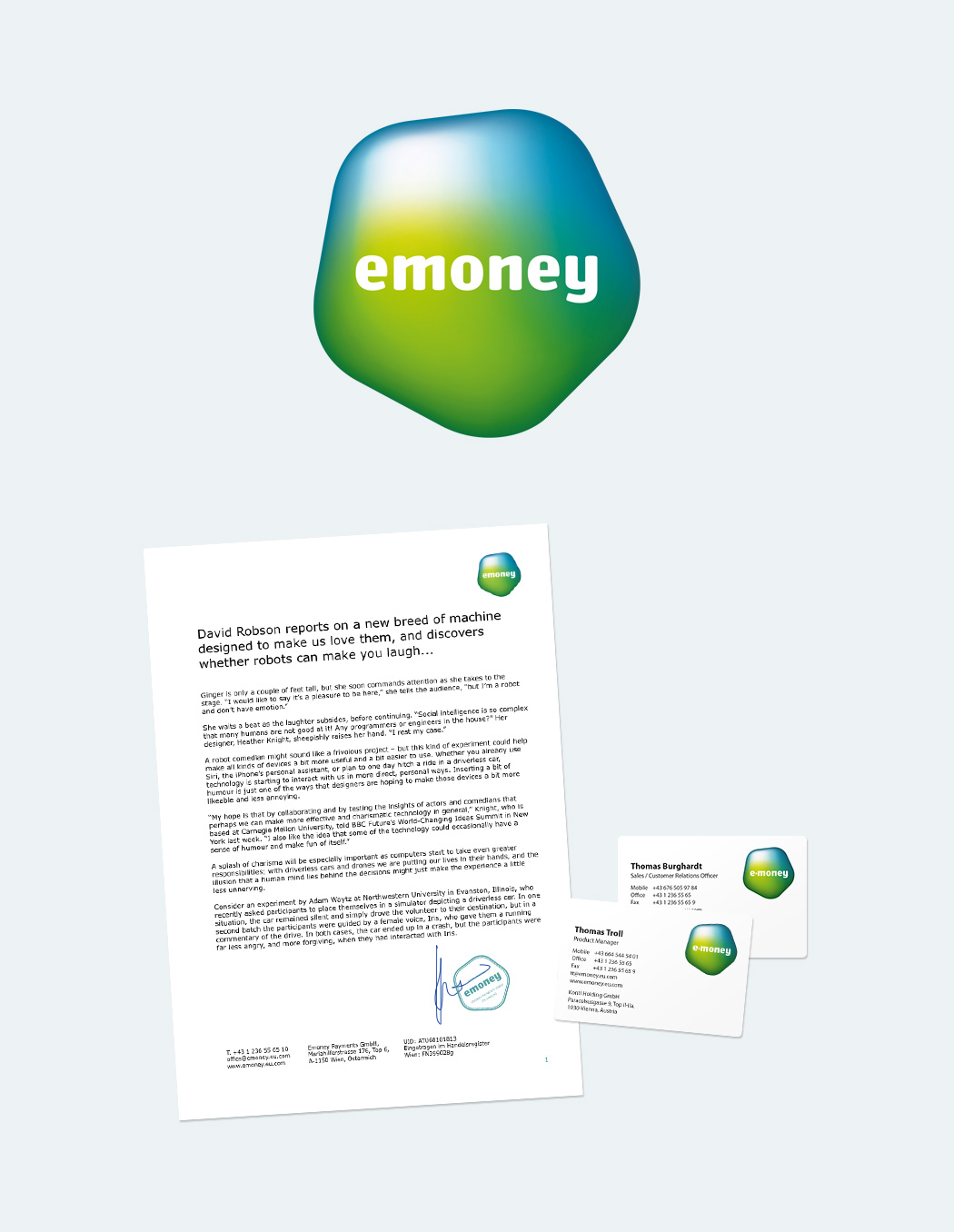emoney logotype