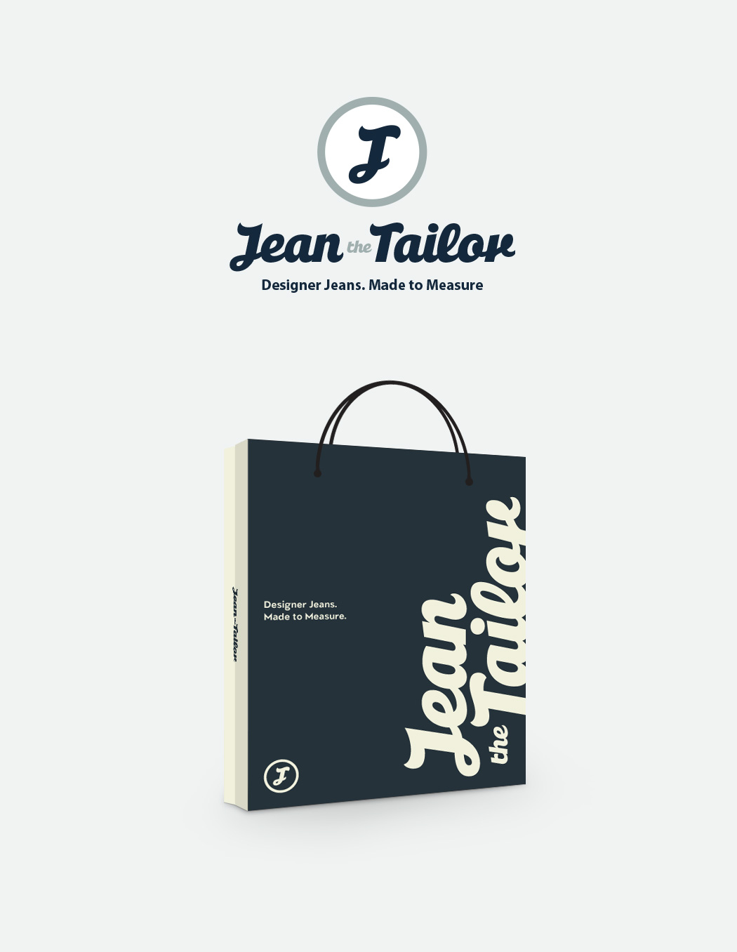 Jean the Tailor Corporate Identity Design
