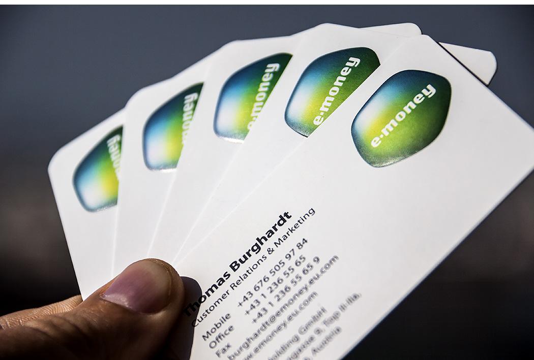 emoney business cards