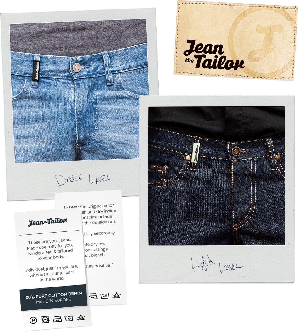Jean the Tailor Labels Design
