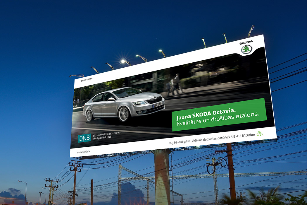 SKODA Billboard Design