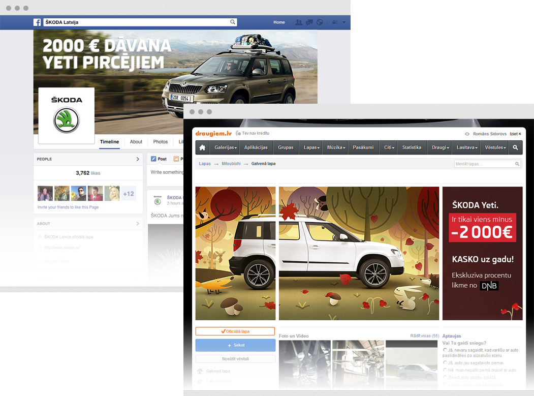 SKODA Social Media Profiles Support