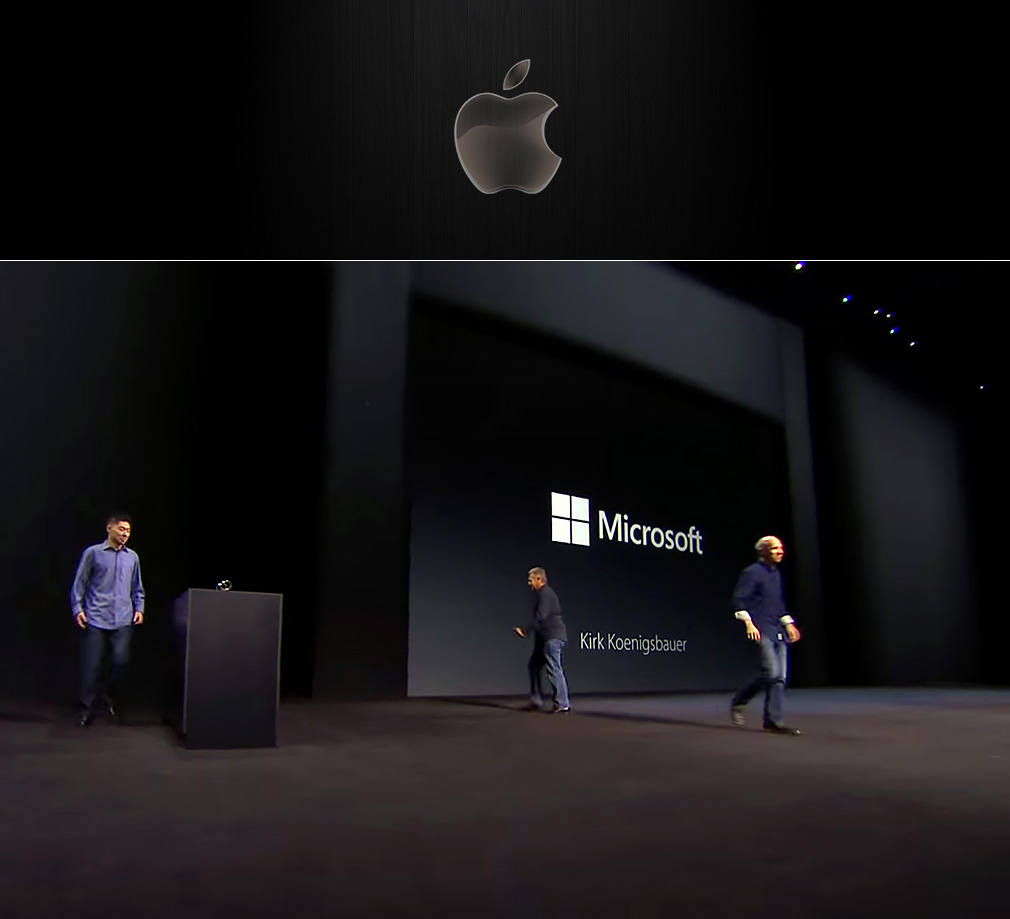 Apple or Microsoft?